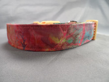 Dog Days Rainbow Batik Collar