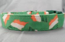 Green Irish Flag Dog Collar