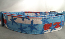 July 4th Sparkle Dog Collar Rescue Me dog collar
