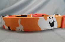 Ghostly Camo Halloween Dog Collar Rescue Me Dog collar