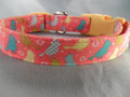 Pretty Birds Girl Dog Collar Rescue Me Collar