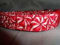 Candy Peppermint Christmas Dog Collar