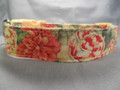 Peonies and Dahlias Dog Collar rescue me collar
