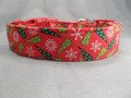 Fun Christmas Trees Dog Collar
