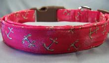 Anchors Aweigh Nautical Dog Collar Anchor Collar Rescue Me Collars