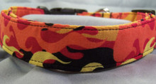 Fat Flames Dog Collar