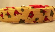 Winter Country Dog Collar rescue me dog collar