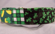 Irish Patch St. Patrick's Day Dog Collar