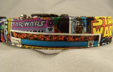 Star Wars Licensed Fabric Dog Collar