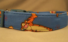 Tigger Licensed Fabric Dog Collar