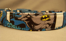 Batman  Dog Collar Licensed Fabric