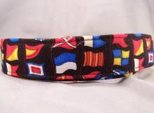 Sea Flags Nautical Dog Collar