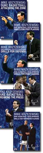 Coach K Duke Basketball 6-Pack DVD's
