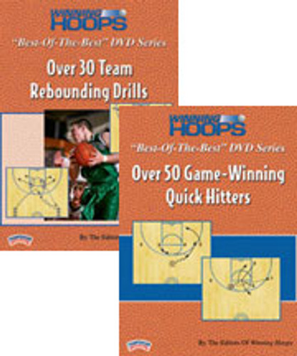 "Winning Hoops ""Best-of-the-Best"" Rebounding and Quick Hitter 2-Pack"