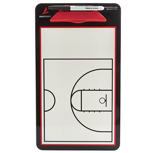 Double Sided Basketball Coaches Board - Front Side