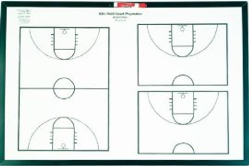 KBA Multi-Court Playmaker Dry Erase Markerboard
