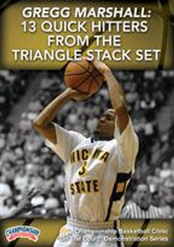 13 Quick Hitters from the Triangle Stack Set: Gregg Marshall