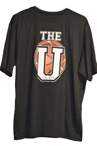 "Hoops U. ""All It Takes"" Performance Tee (Front)"