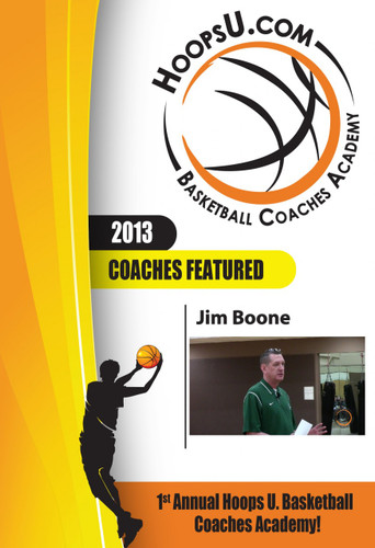 Jim Boone's Pressure Pack Line Defense from the 2013 Hoops U. Basketball Coaches Academy