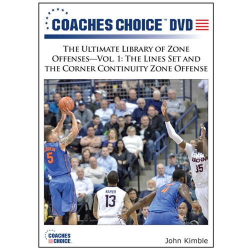 The Ultimate Library of Zone Offenses Vol. 1: The Lines Set and the Corner Continuity Zone Offense