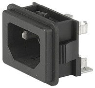 SCHURTER Power Entry Modules with fuse holder - Type GFS2