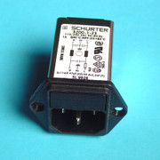 SCHURTER Power Entry Modules with 1A Filter - Type 5200