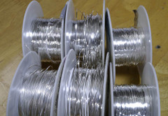 Silver Flat Wire / meter