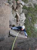 Alpine rock climbing skills