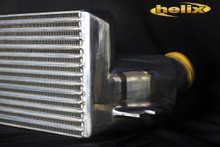 Helix Stepped Core Intercooler For BMW