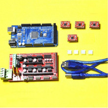 RAMPS 1.4 3D Printer Controller with Mega 2560 and motor drivers