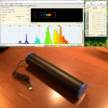 Visible light spectrometer for use with Theremino software interface.