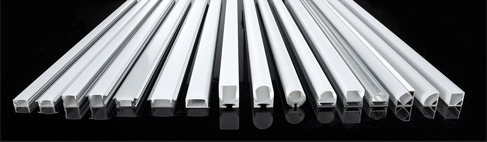 Led profiles aluminium led extrusion led light channels linear led profile housings aloadofball