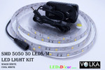 5050 30 LEDs/m Water Resistant LED Light D.I.Y Kit White
