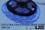 Flexible LED Strip SMD 5050 30 pcs per m Ultraviolet UV Water-Resistant IP65