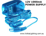 AC/DC Power Adapter 12V, 1 A Wall Mounted