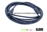 2 Meter DC Extension Lead 5.5mm x 2.1mm