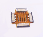 10 mm Middle Connector for Non-Waterproof Strips with 4 Pins