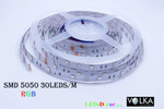 SMD 5050 30 pcs/m Non-Waterproof