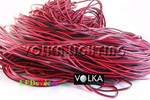 18AWG wire for single colour LED Strip Black Red