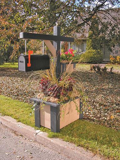 Park Rectangular Flower Planter
