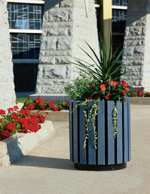 10 Gallon Public Place Round Flower Planter