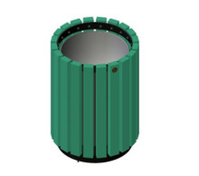 20 Gallon Public Place Series Trash Receptacle