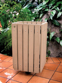 32 Gallon Contour Trash Receptacle