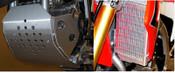 Flatland Racing 2013-2017 CRF250L skid plate/radiator Guard Combo