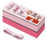 Yasuragi Poodle Family Plastic Bento Box