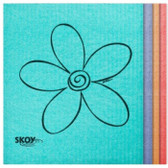 SKOY Cleaning Cloths, MIXED COLOURS (Pack of 4)