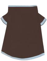 Brown and Blue Dog Tee Shirt