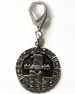 Aztec Coin Collar Charm