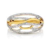 9ct Diamond Dress Ring