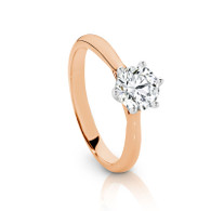 0.70ct Diamond Solitaire ring (SJ5593)